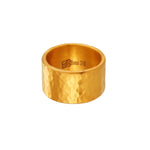 24K GOLD LARGE JACKIE RING
