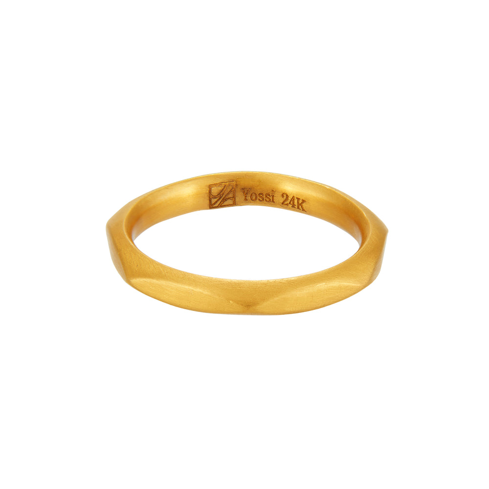 24K GOLD DORIS WEDDING BANS