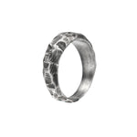 OXIDIZED STERLING SILVER PUNTA GALERA MEDIUM PACHA RING