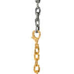 OXIDIZED STERLING SILVER & VERMEIL PUNTA GALERA MEDIUM SPACE WRAP NECKLACE