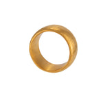 VERMEIL WIDE BAND RING