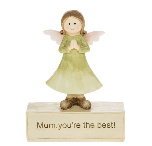 Angelic Figurine Mum You're The Best - Caths Direct