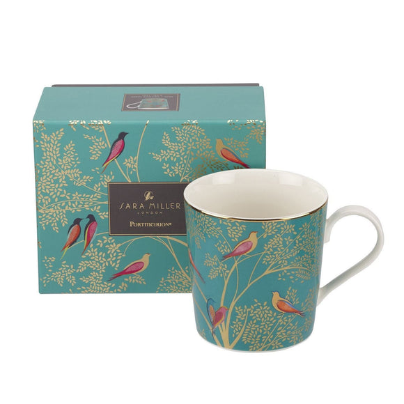 Portmeirion Sara Miller Chelsea Collection Boxed Mug - Caths Direct