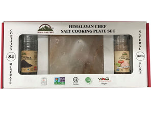 Himalayan Chef Salt Cooking Plate Set - Caths Direct