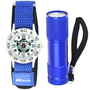 Football Watch And Micro Torch Set - Caths Direct