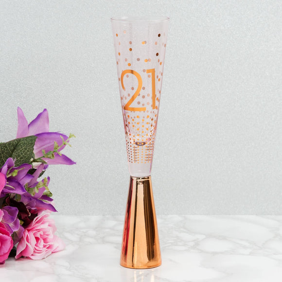 By Appointment 21st Birthday Prosecco Glass