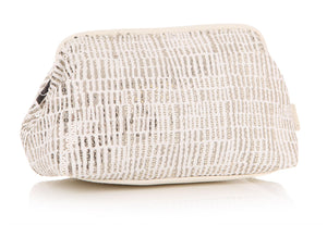 Ta Da Sequinned Cosmetics Pouch in Cream - Caths Direct