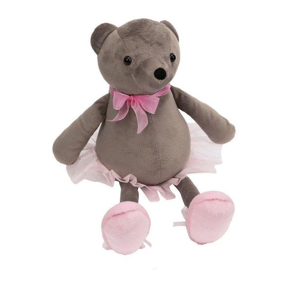 Ballerina Bear Doorstop - Caths Direct