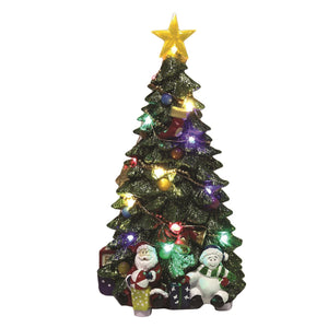 LED Christmas Tree Figurine - Caths Direct