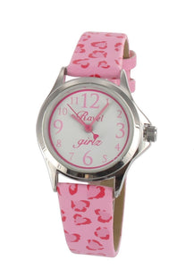 Pink Hearts Watch - Caths Direct