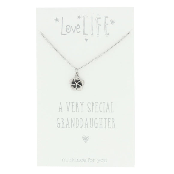 Love Life Necklace - Grandaughter - Caths Direct