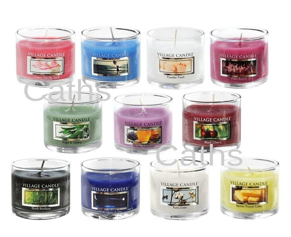 Village Candle Mini Glass Votive Candles
