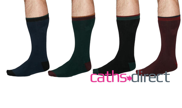 Mens Walker Organic Cotton Walking Socks Size 7-11 by Thought - Caths Direct