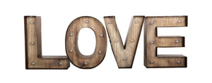 LOVE Word LED Light Decoration - Caths Direct