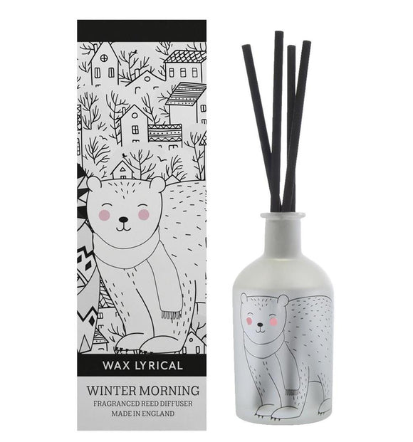 Wax Lyrical Winter Morning Reed Diffuser 180ml - Caths Direct