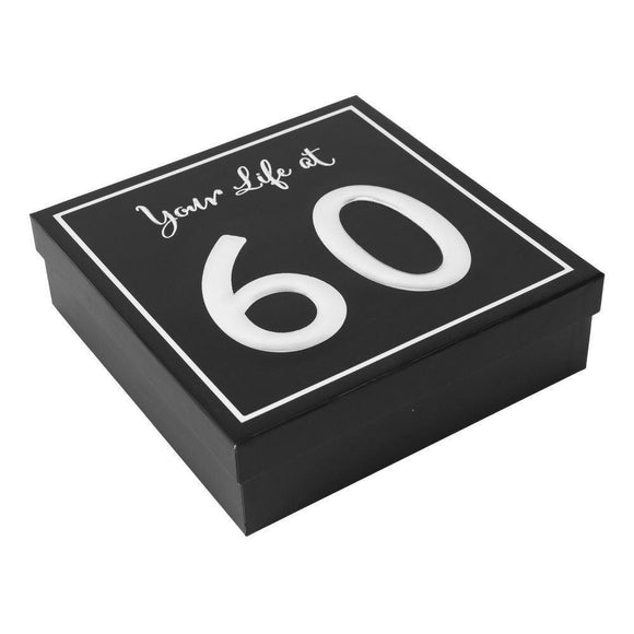 Your Life at 60 Keepsake Box - Caths Direct