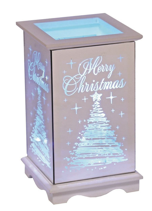 Multi Coloured LED Christmas Lantern Merry Christmas - Caths Direct