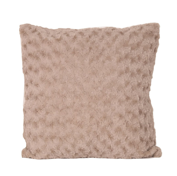 Faux Fur Square Cushion - Caths Direct
