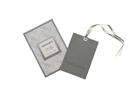 Fired Earth Earl Grey & Vetivert New Scented Car & Air Freshener - Caths Direct