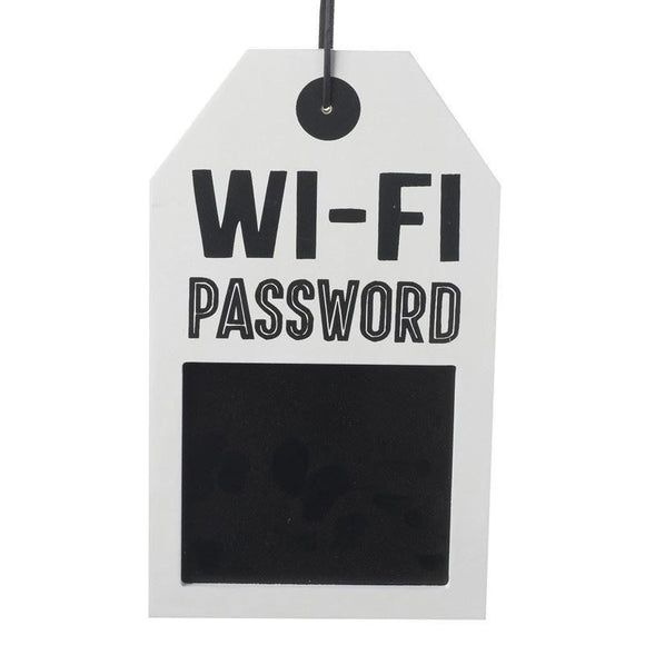 WiFi Password Chalkboard Wall Hanging - Caths Direct