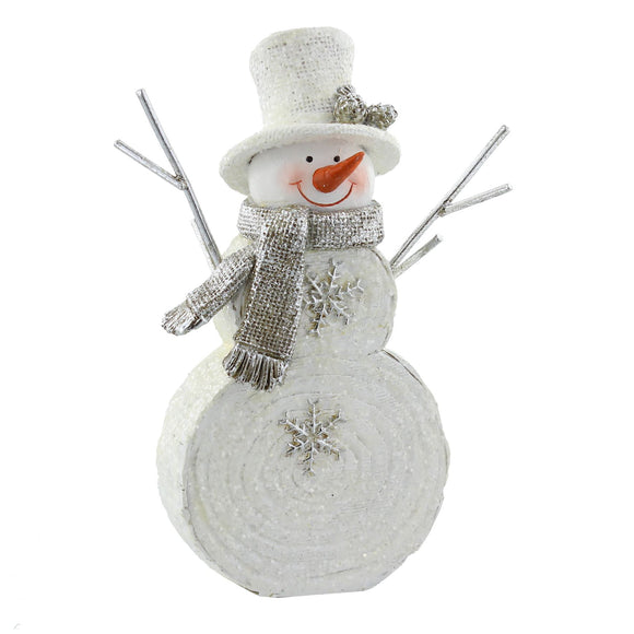 Hand Painted Snowman Ornament - Caths Direct