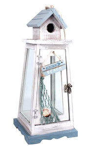 Beach House Style Candle Holder - Caths Direct