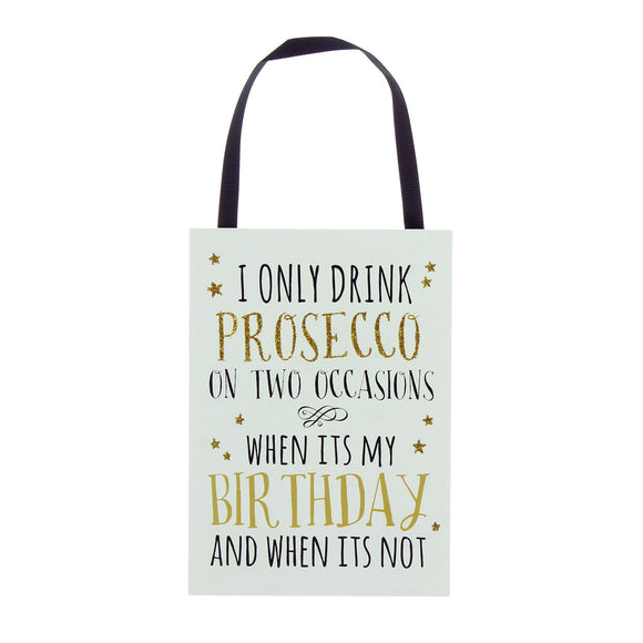 Sparkling Prosecco Sign - Caths Direct