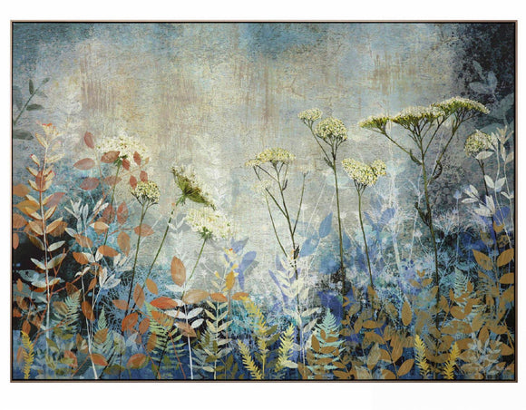 Fanciful Framed Wrapped Canvas Picture 122cm x 88cm - Caths Direct