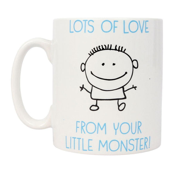 From Your Little Monster Dad's Gift Mug - Caths Direct