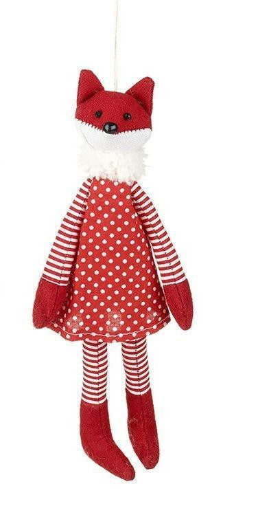 Red & White Dress Fox - Caths Direct
