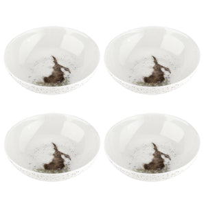 Wrendale Hare Design Bowls Set of 4 - Caths Direct