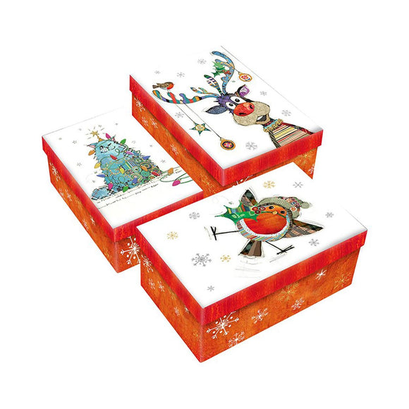 Bug Art Kooks Designs Christmas Gift Box Set