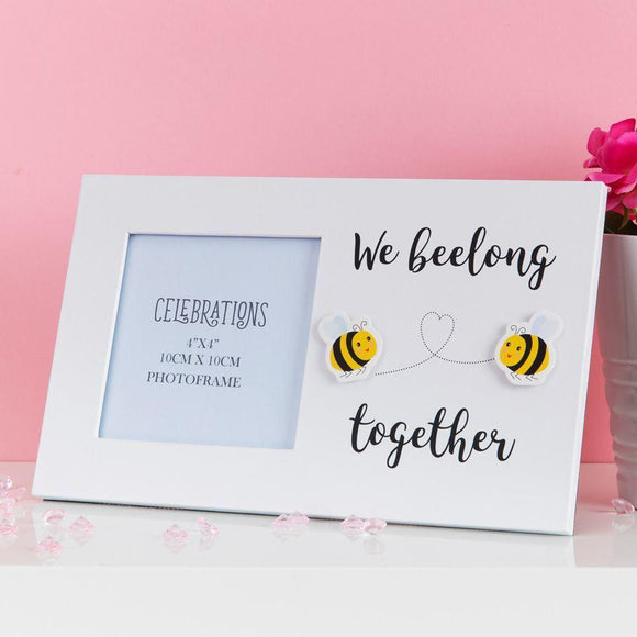 We Beelong Together Photo Frame - Caths Direct
