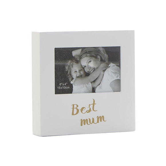 Best Mum Box Photo Frame