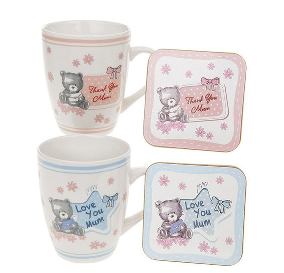 Mum Mug & Coaster Set - Caths Direct