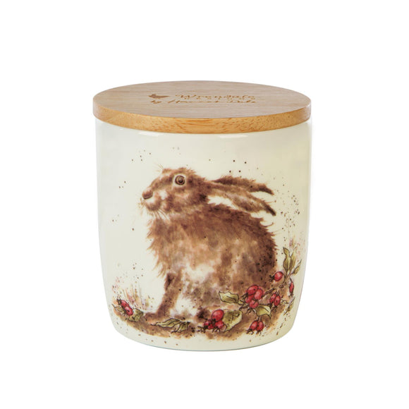 Wax Lyrical British Wrendale Illustration Ceramic Candle Jar Hedgerow - Caths Direct