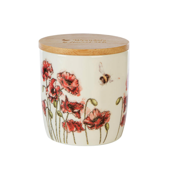 Wax Lyrical British Wrendale Illustration Ceramic Candle Jar Meadow - Caths Direct