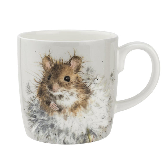 Royal Worcester Wrendale Design Large Mug Dandelion Mouse - Caths Direct