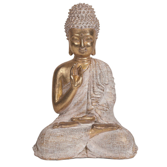 Gold Effect Buddha Ornament - Caths Direct