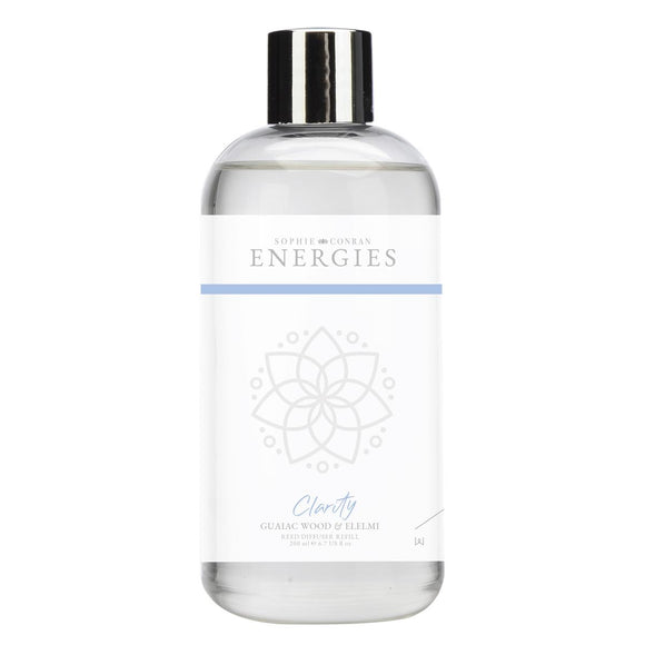 Sophie Conran Energies Clarity Guaiac Wood & Elemi Reed Diffuser Refill by Wax Lyrical - Caths Direct