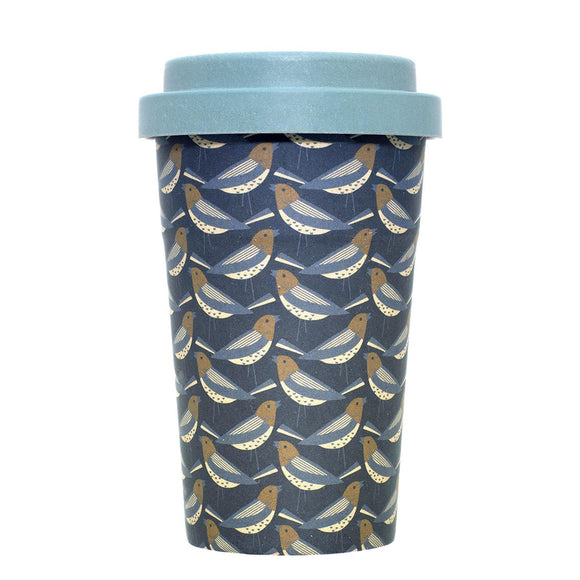 Brakeburn Finch Design Eco Friendly Bamboo Coffee Cup - Caths Direct