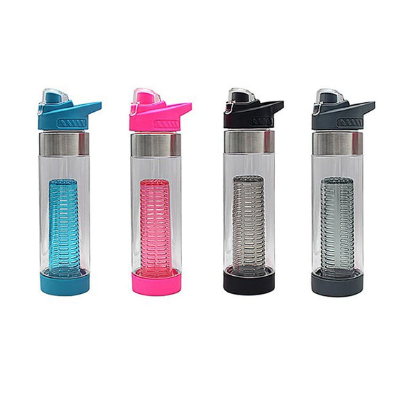 Hydration Sports Drinks Bottle with Infuser 700ml