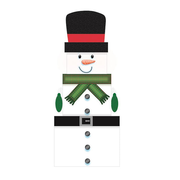 3 Piece Snowman Boxes - Caths Direct