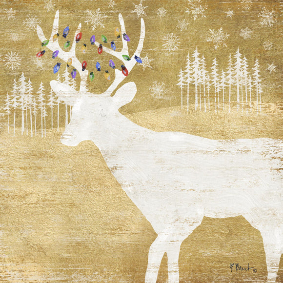 Woodland Deer Christmas Design Disposable Paper Napkins - Caths Direct