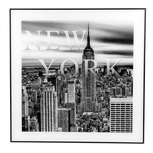 New York Square Framed Print - Caths Direct