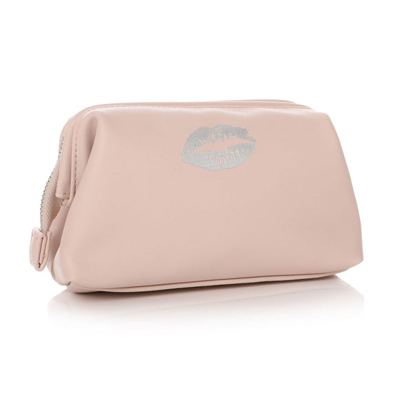 Lips Design Pink Cosmetic Bag - Caths Direct