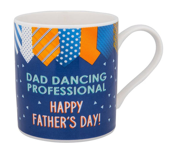 Happy Fathers Day - Dad Dancing Professional  China Mug - Caths Direct