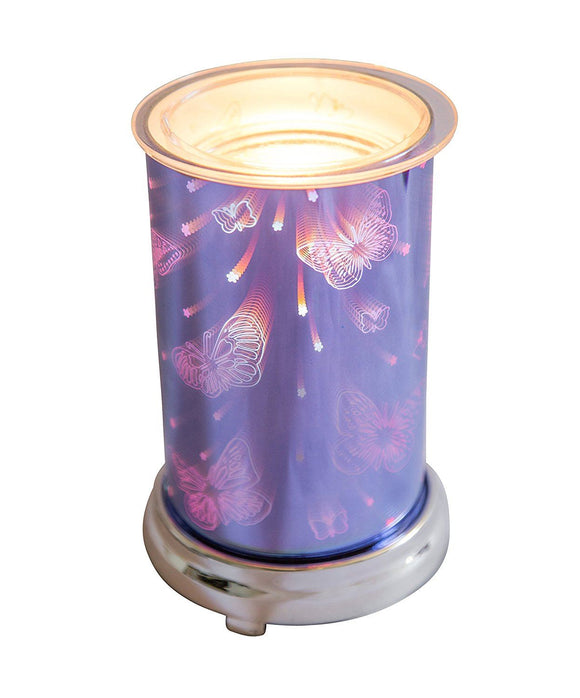 Cello Harmony Blue 3D Electric Wax Melt Warmer - Caths Direct