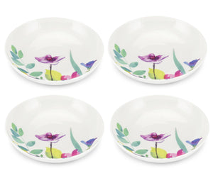 Portmeirion Water Garden Design Pasta Bowl Set of 4 - Caths Direct