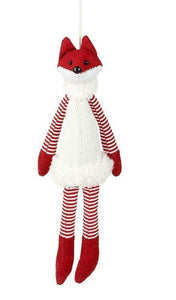 Red & White Fox White Dress - Caths Direct